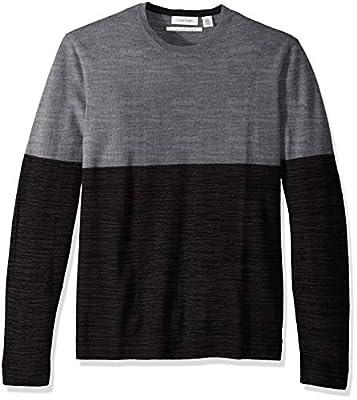 Calvin Klein Men's Merino Crew Neck Sweater