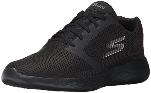 600 Nero Refine Run Go Indoor Sportive Skechers Uomo Scarpe xUwE8Anqa