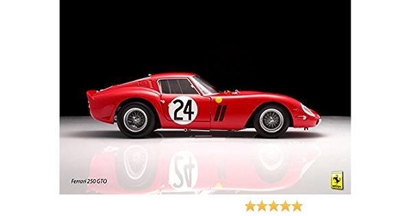 187P Premium High Gloss Art Print Poster. Ferrari 250 GTO 24\u201dx36\u201d