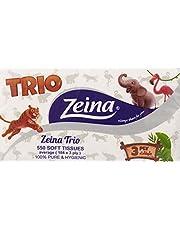 Zeina Soft Tissues, 3 Ply, 550 Tissues