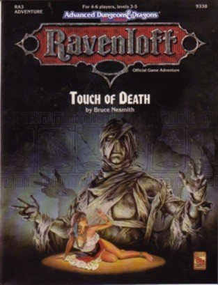 Cover of RA3 Touch of Death