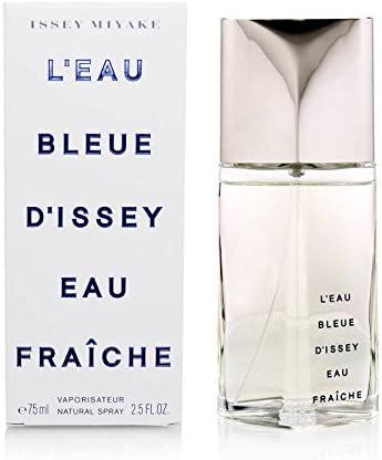 Issey Miyake L'Eau Bleue D'Issey Eau Fraîche - Agua de Colonia para Hombre, 75 ml