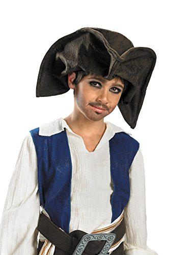 (Jack Sparrow Child Pirate Hat Costume Accessory - One)