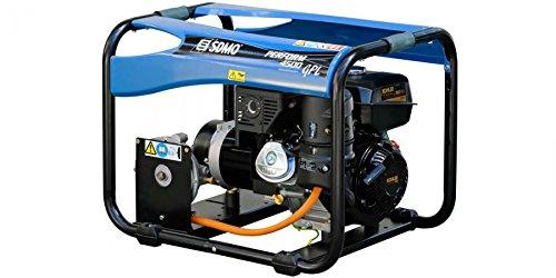 GENERADOR SDMO PERFORM 4500 GAZ | 4200 W | GLP: Amazon.es: Iluminación