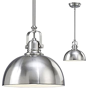 nickel pendant light glass breakfast bar pendant kitchen and bar light mini pendant with brushed nickel metal shade craftmade 35993an ceiling fixtures