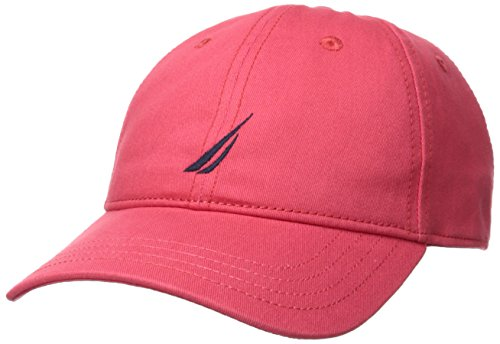 c Logo Adjustable Baseball Cap Hat, Spiced Coral One Size ()