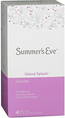 - Summer's Eve Douches Island Splash 4 Each (Pack of 3)