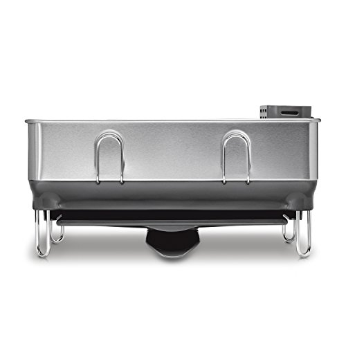 Simplehuman Kitchen Compact Steel Frame Dish Rack With