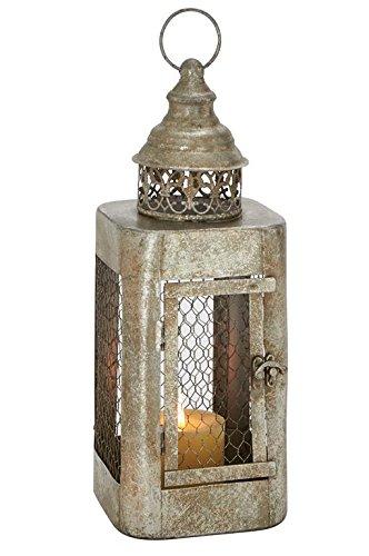 Deco 79 52985 Metal Candle Lantern 6
