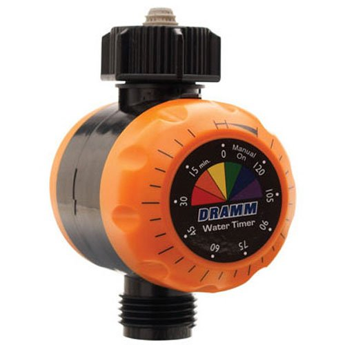 Dramm 15041 ColorStorm Premium Water Timer, Red