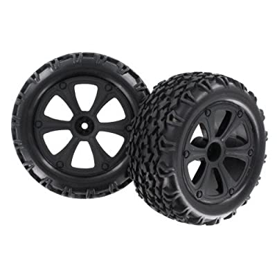 Redcat Racing BS214-009 Blackout Tire Unit: Toys & Games