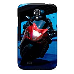 New Style Tpu S4 Protective Case Cover/ Galaxy Case - Night Ride Hd