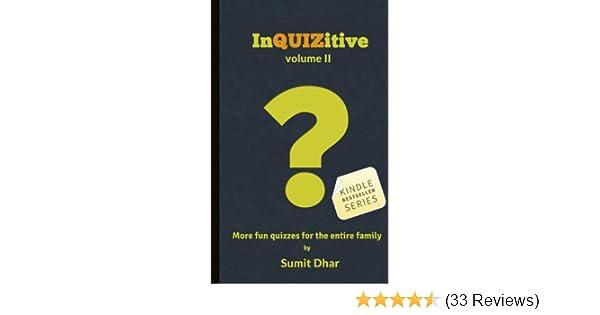 Trivia Quiz & Pub Quiz Book: InQUIZitive (Volume II)