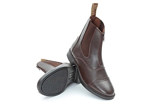 Shires harvies PVC Zip Up Jodhpur-Boots 27/Größe 9
