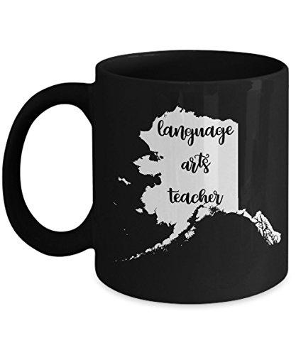 Alaska Language Arts Teacher Home State Back To School Teacher Day Coffee Mug Gift 11oz Alabama Crimson Tide Cd Case