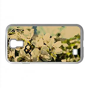 Pear Flowers Watercolor style Cover Samsung Galaxy S4 I9500 Case (Spring Watercolor style Cover Samsung Galaxy S4 I9500 Case)