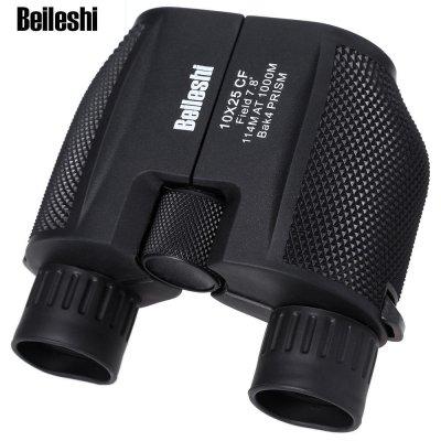 OUTLIFE 10 X 25 HD 114 - 1000M Ultra-Wide Field Waterproof All Optical Black Binocular