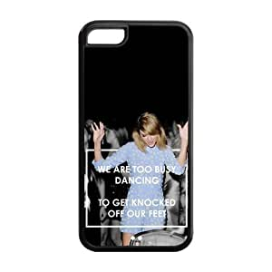 the Case Shop- Taylor Swift Quotes Singer TPU Rubber Hard Back Case Silicone Cover Skin for iPhone 5C , i5cxq-483