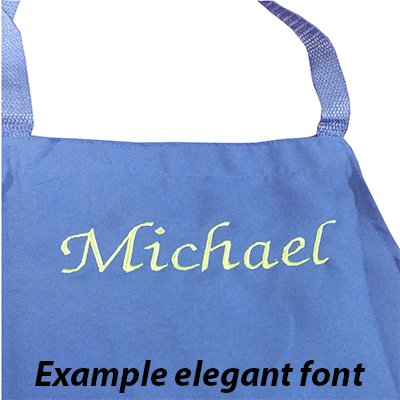 Review Personalized Custom Embroidery Name