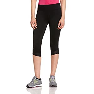 Under Armour Women's Fly-By Compression Capri, Black (001), Large