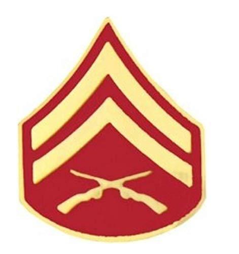 HMC Marine Corps Corporal (Cpl/E-4) Rank Insignia Pin - 14388 (7/8 inch)