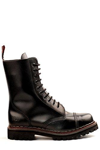 Aderlass 10-Eye Steel Boots Leather