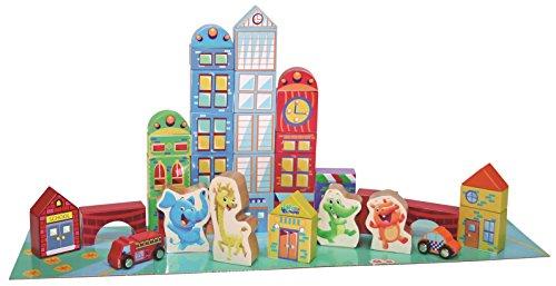 Playskool Elefun City Blocks (40-Piece)