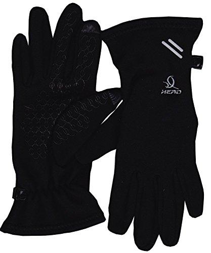 Head: Multi-Sport S Gloves with SensaTEC, Asphalt (Black-Medium)