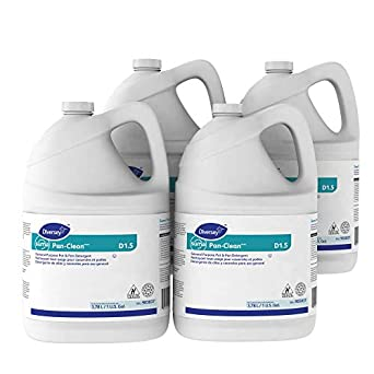 Diversey Suma 903837 Pan-Clean, General Purpose Pot and Pan Detergent, D1.5, 4 x 1 gal/3.78 L Containers (Pack of 4): Amazon.com: Industrial & Scientific