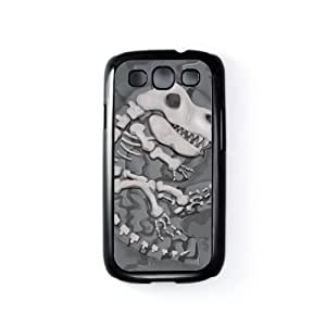 Dinosaur Fossil Black Hard Plastic Case Snap-On Protective Back Cover for Samsung? Galaxy S3 by Nick Greenaway + FREE Crystal Clear Screen Protector