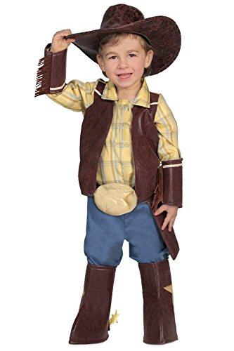 Princess Paradise Baby's Deluxe Cowboy Costume, (Cowboy Halloween Costume Baby)