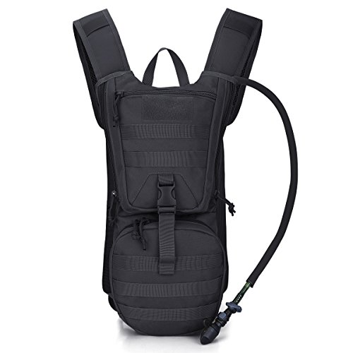 G4Free Military Hydration Pack Backpacks with 3L Upgraded...