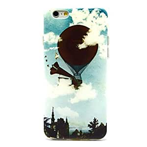 QHY The Balloon Dance Pattern TPU Soft Cover for iPhone 6