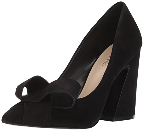 Women's Suede West Pumps HADDRIANA Nine Black Ox50q4B