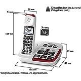 Clarity XLC34 Amplified Cordless Phone 59234 Amazonca Electronics