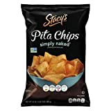 SCS Stacy's Simply Naked Pita Chips - 24 oz.. (pack of 2)