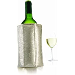 Vacu Vin Rapid Ice Wine Cooler - Platinum
