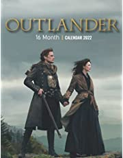 Outlander 2022 Calendar: Yearly Monthly 16-month Calendar 2022 8.5x11 with Large Grid for Planning, Scheduling, and Organizing