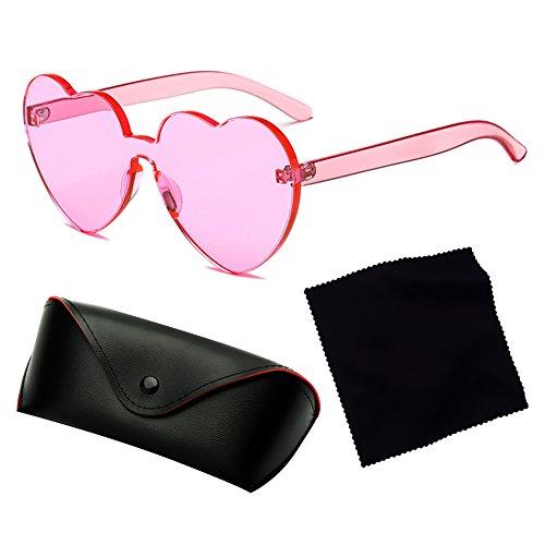 Lunettes UV juqilu Bonbons Soleil Shades Intégré De C8 Coeur Coeur Couleur Sunglasse UV400 615z1qxg