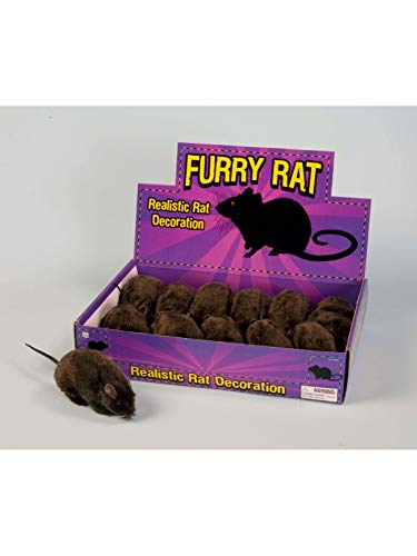 Forum Novelties Real Looking Fake Rat Prop for