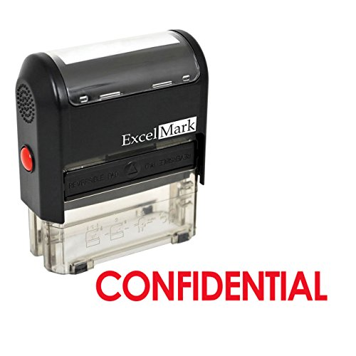 CONFIDENTIAL Self Inking Rubber Stamp product image