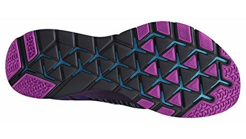 Nike Mens Free Train Force Flyknit Running / Scarpe Da Allenamento Concord / Vvd Viola-bianco-rosa