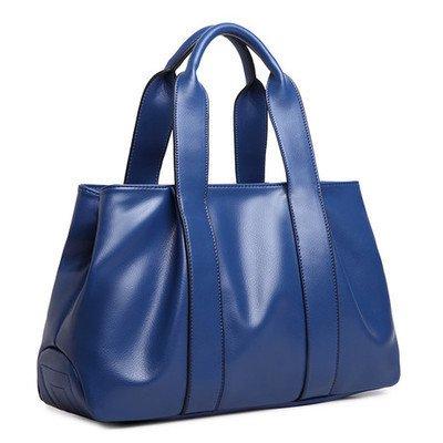 mefly la nueva primavera y verano moda bolso bandolera tutti-match MS., Claret azul