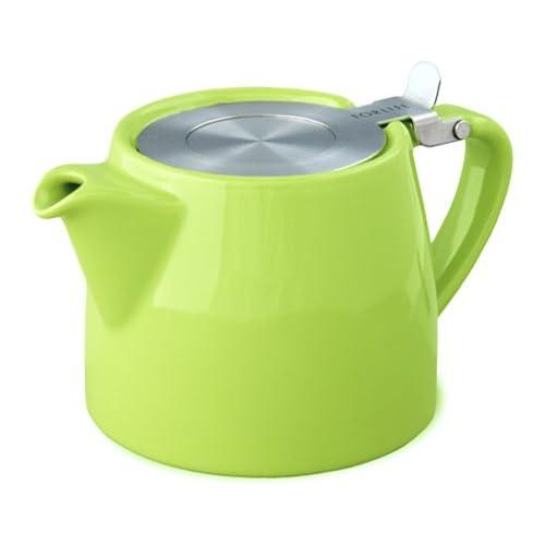 For Life Lime Green Stump teapot 18oz 530ml
