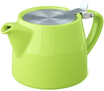 For Life Lime Green Stump teapot 18oz 530ml