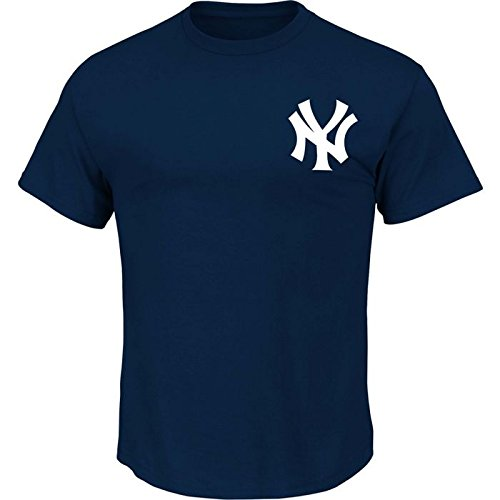 Majestic Adult MLB Replica Crewneck Team Jersey New York Yankees 3XL
