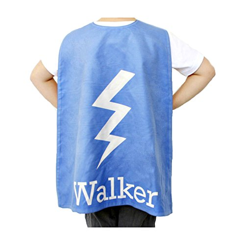 Personalized Kids Cape Costumes (Blue Bolt), Girls and Boys Superhero Costume and Dress Up Costume, Personalized Bolt Superhero Cape For Kids, Little Kids Cape, Custom Super Hero Capes For (Old Navy Superman Costume)