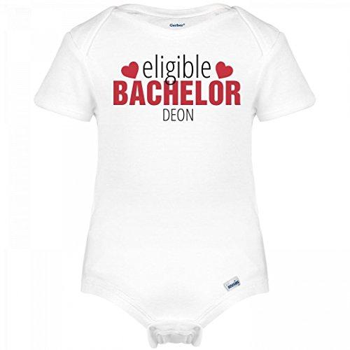 Cute Valnetine Eligible Bachelor Deon: Infant Gerber Onesies