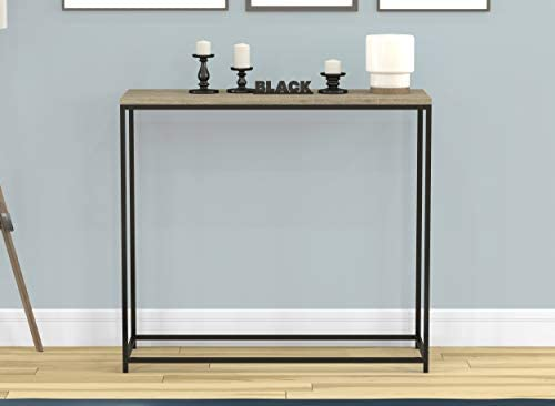 Safdie Console Table-Dark Taupe Black Metal – 81039.Z.05