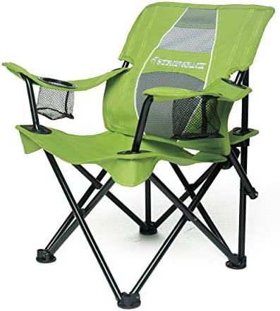STRONGBACK Prodigy – Kids Folding Heavy Duty Camping Chair with Lumbar Supportive Ergonomics and Portable Carry Bag